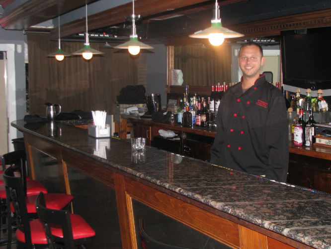 Live music has become an important weekend draw to XO, said owner-chef Jason Kitton, pictured.