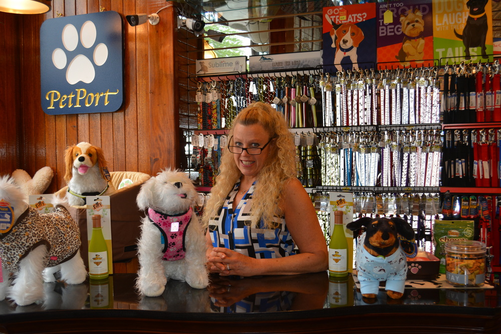 PetPort's owner and operator, Holly Levis-Dolan, serves up supplies Northport's Main Street with plenty of pet care products and grooming services.