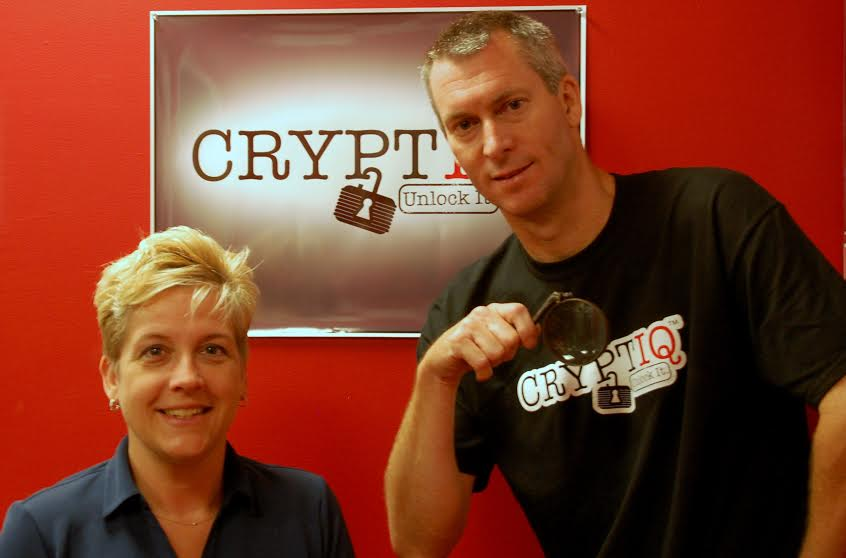 Find this key within 60 minutes at Jim Clark's CryptIQ room-escape experience in Northport and you're a winner.