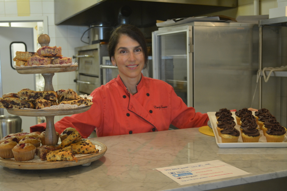 Carolyn Arcario, of Huntington, is co-owner and chef of Wild Flours, a dedicated gluten-free bakery.