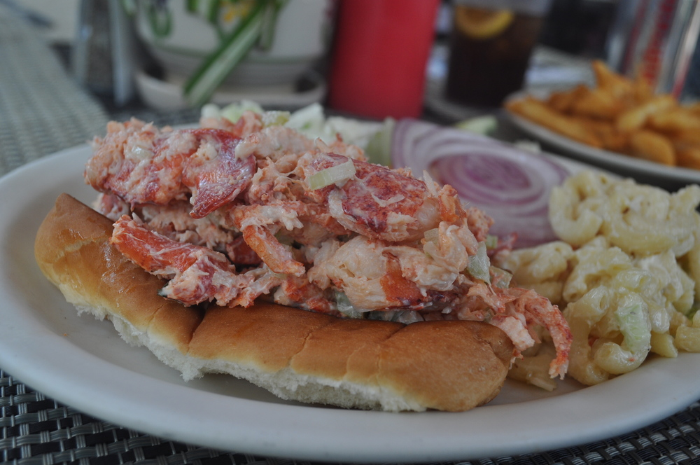 Lobster rolls are a simple summer treat.Lobster rolls are a simple summer treat.