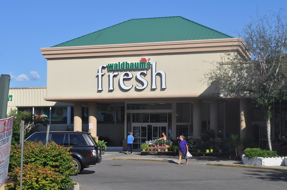 Waldbaum's in Huntington village, pictured July 22, is being sold to Stop & Shop following a chapter 11 bankruptcy protection filing by A&P.