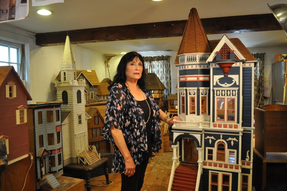 Sonia Kellogg, who has operated Kellogg's Dolls' Houses in Cold Spring Harbor since her husband Ned died seven years ago, is facing the prospect of being evicted from her workshop on Main Street.