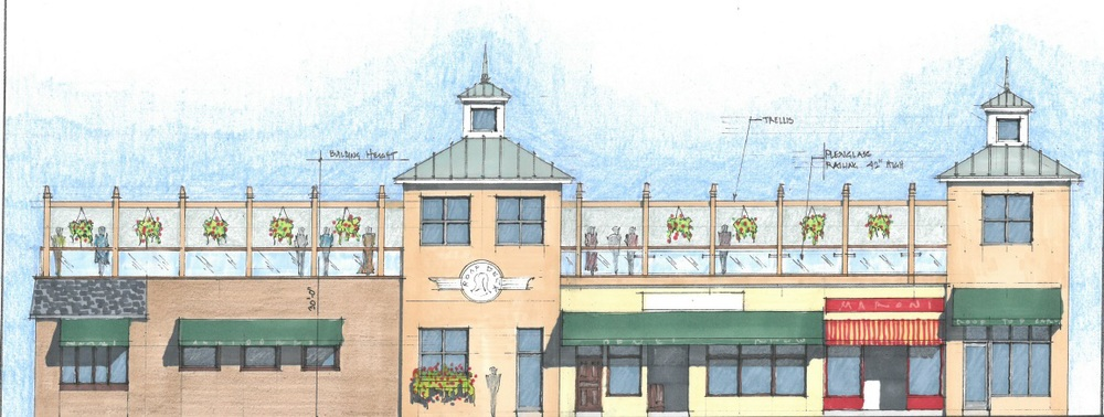 Skipper's Pub owners Paul and Marie Gallowitsch are hoping to soon add rooftop dining and a rooftop bar.