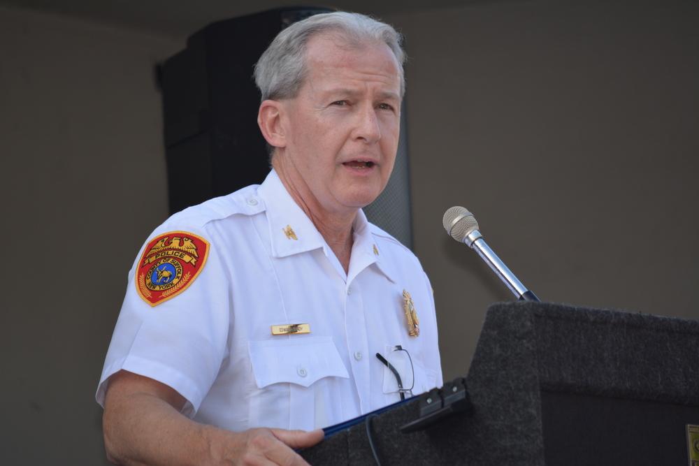 Edward Brady, former longtime Second Precinct inspector