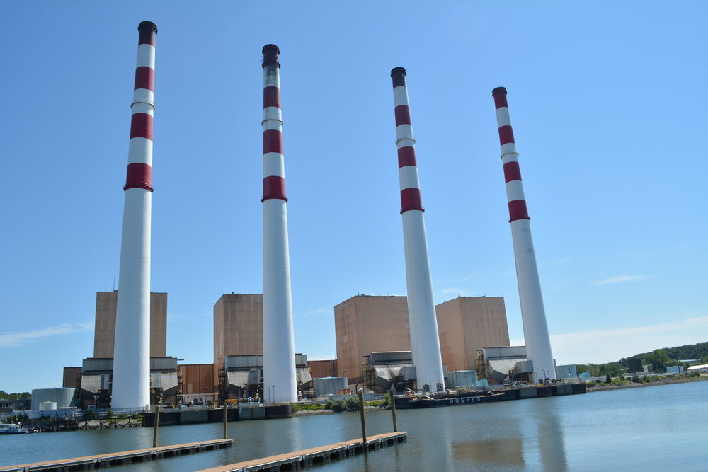 The Northport power plant is the focus of a lawsuit filed against National Grid and the state Department of Environmental Conservation in Nassau County Supreme Court Aug. 11.