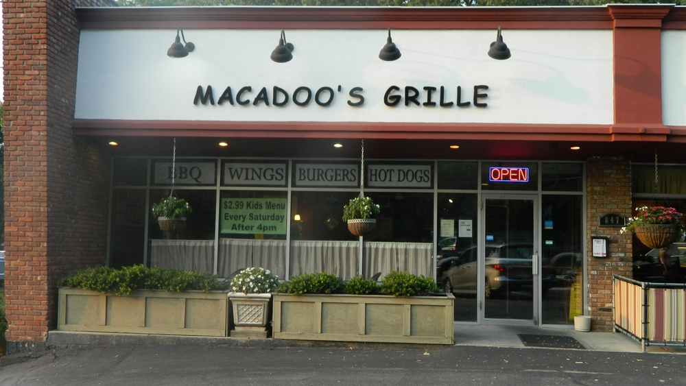 Macadoo's Grille has been at 847 Fort Salonga Road for the past four years.