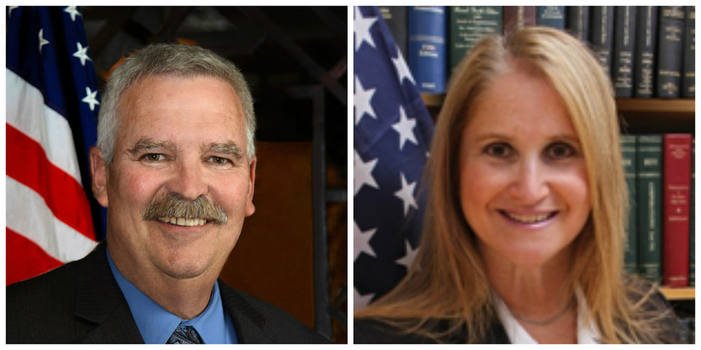 Keith M. Barrett and Susan Berland will represent the Working Families line in the race for two town board seats.