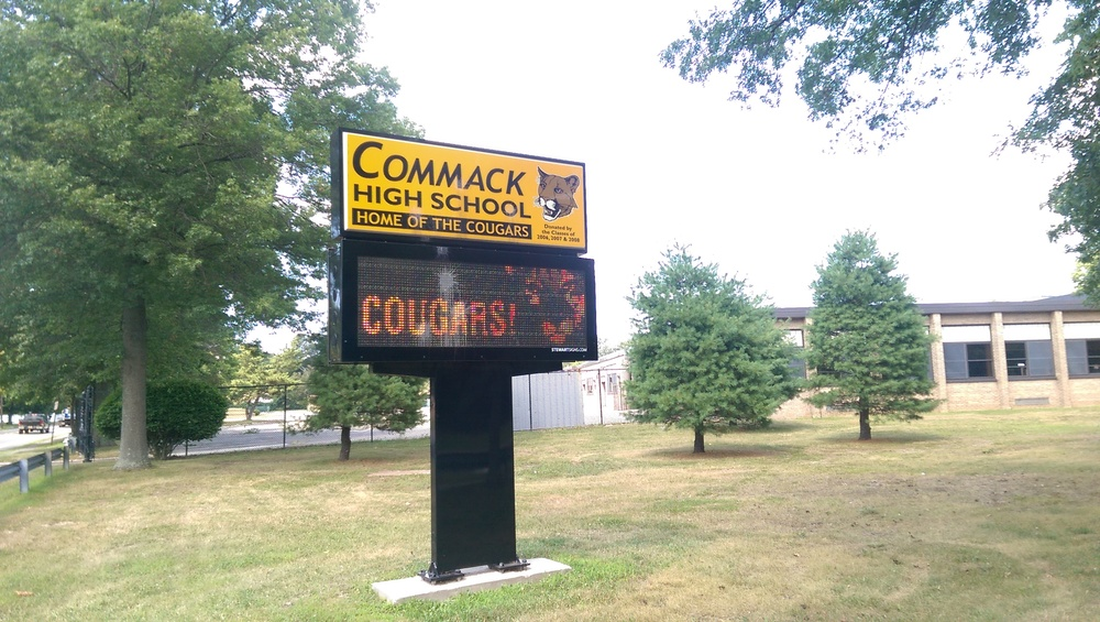 "District officials said an ""unauthorized person"" accessed Commack High School's student management system in a network breach Thursday."