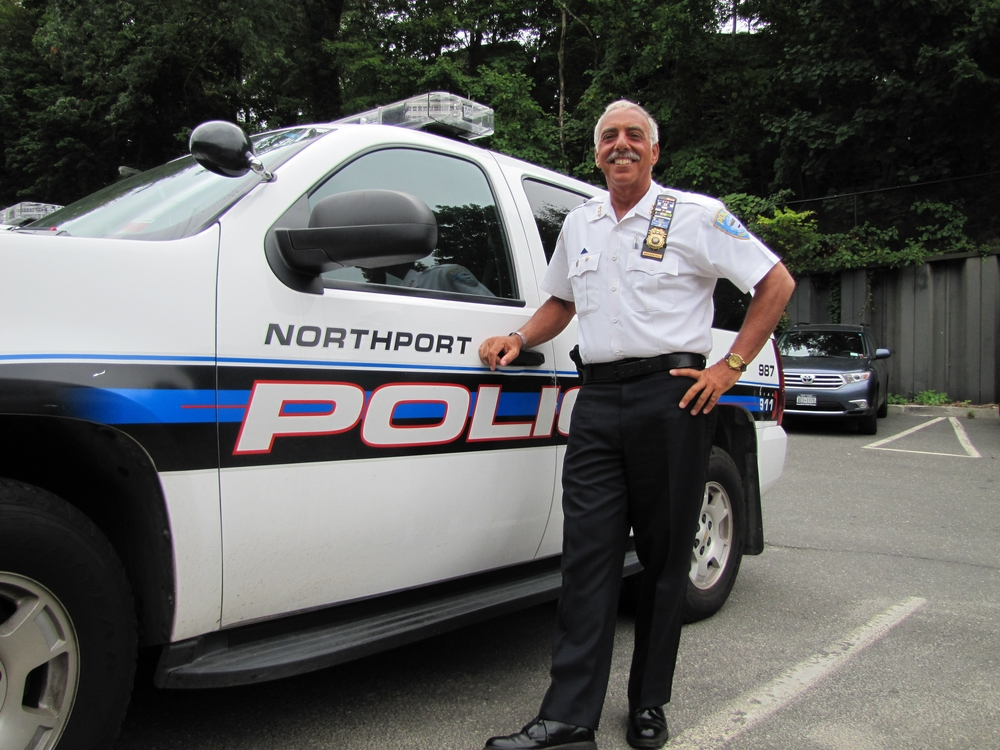 After serving 37 years for the village of Northport, Chief Eric Bruckenthal says his final farewell as chief of police on Friday.