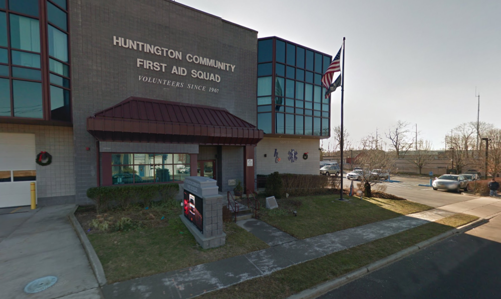 The Huntington Community First Aid Squad is calling on supporters to contact town board members to sway them to reverse a proposed cut to the squad's funding.
