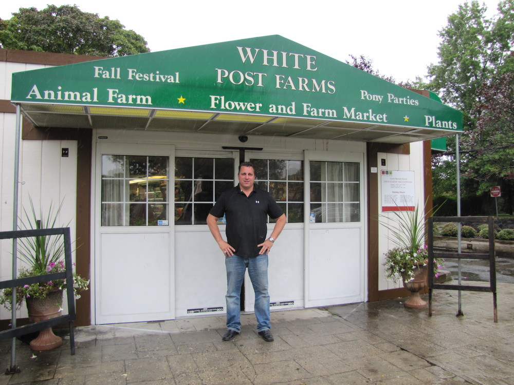 Working on his family farm since he was 17 years old, Rob Brigati of Melville is a fourth generation co-owner of White Post Farms in Melville.