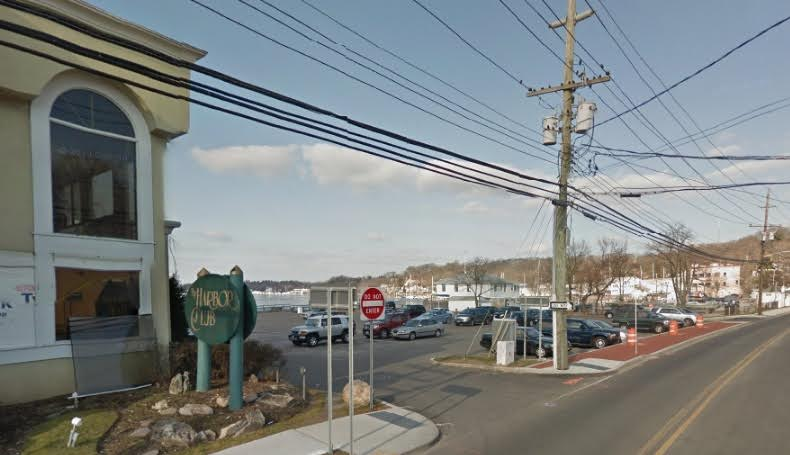 Repairs to the Huntington Town municipal parking lot on New York Avenue off the harbor in Halesite will be made thanks to a $11,000 donation from the Bohlsen Restaurant Group