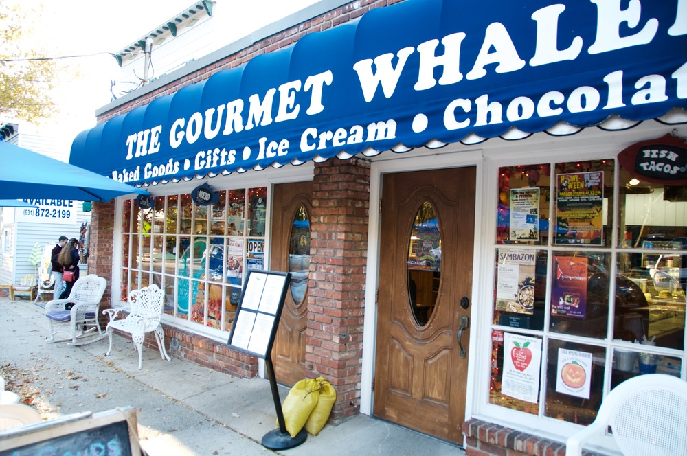 The Gourmet Whaler was once owned by a French culinary student Lillian Feldman whose ghost is said to still reside in the shop among Feldman's old belongings, including her prized stove.