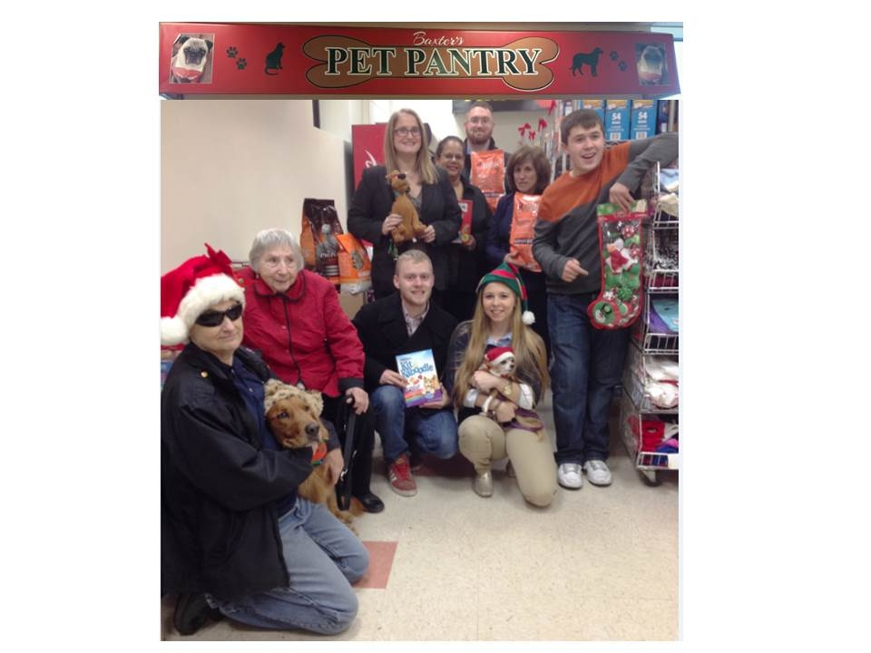 Last year's annual Holiday Pet Food Drive, pictured, brought in over 600 pounds of food for the Town of Huntington's pets in need. Front row, from left: Liz Maffei, her dog Tyler, Rita Maffei, Sean Delle, Gilda Goldental Stoecker and brother, Steven Prestia. Second row, from left: Councilwoman Susan Berland and, from the Harry Chapin Food Bank and Humanitarian Center, Program Manager Idalia Boczek, Coordinator of Government Affairs and Public Policy Michael W. Haynes and Veteran Life Skills Specialist Fern Summer.
