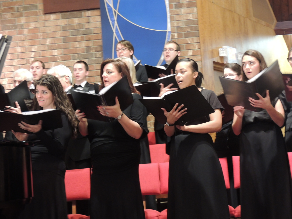 "The Huntington Community Chorus performed its annual ""Songs Of The Winter Season"" recital at the Congregational Church of Huntington in Centerport this past Sunday."