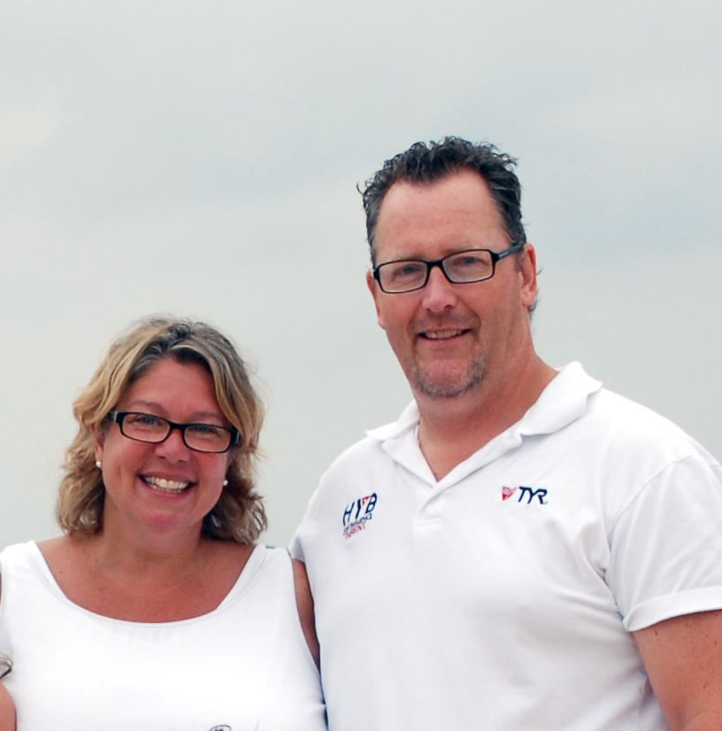 "Members of the Northport Yacht Club are hosting a fundraiser billed as the ""Bongiorno Blast"" for a former couple from the community, John and Michele Bongiorno, who were stricken with cancer six weeks apart."