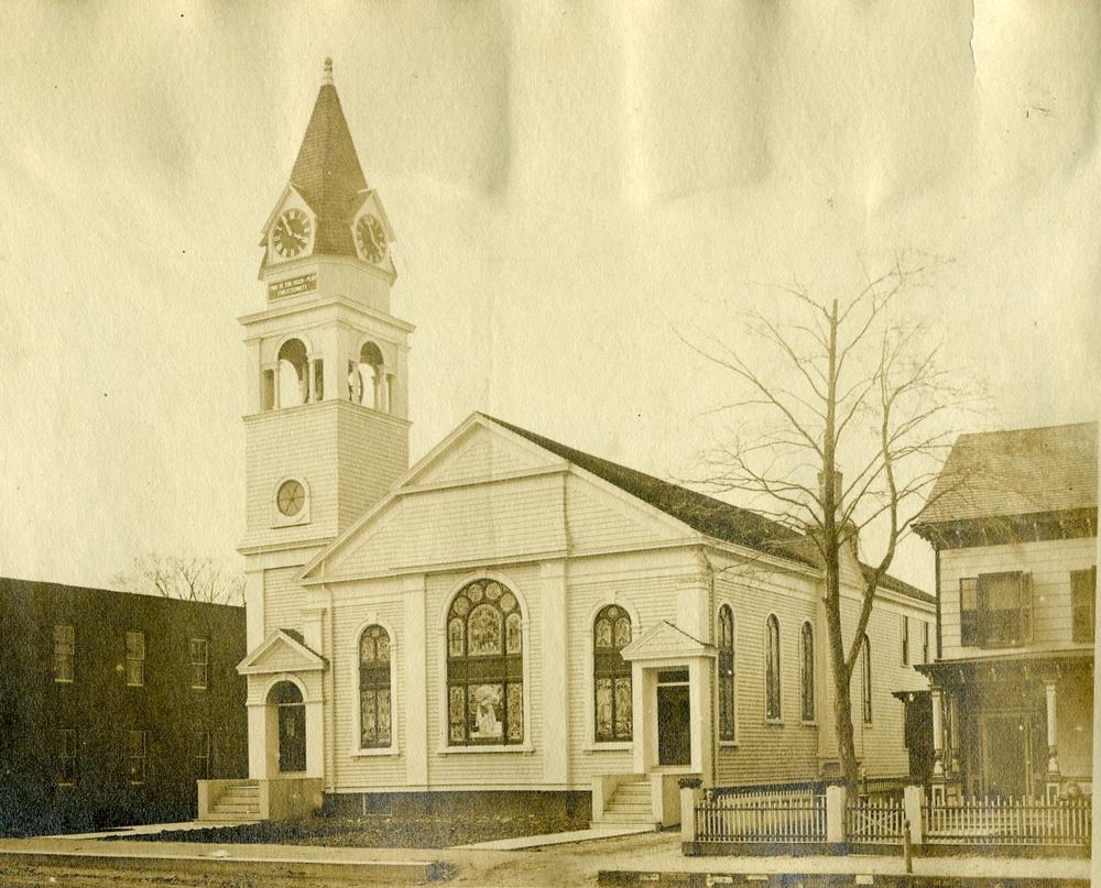 THEN:Huntington Methodist Church
