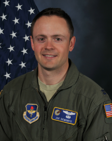 Air Force Captain Joseph DeMonte IV, a graduate of Commack High School and native of Dix Hills, has been accepted into the selective Air Force Test Pilot School program and is slated to begin this June.