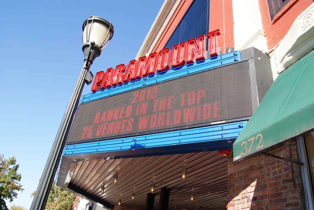 : Paramount officials announced Tuesday that they're planning to open a venue in Baltimore, part of a plan to open multiple other venues in the future.