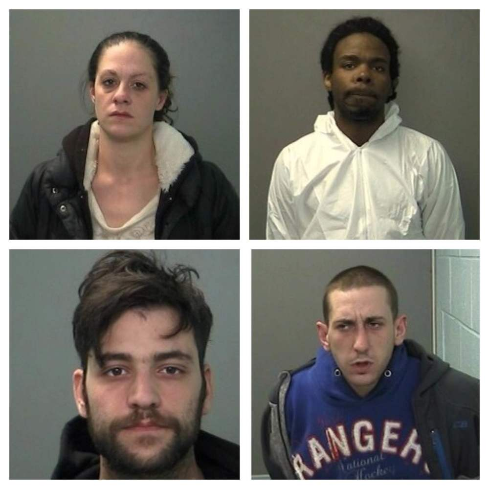 From top left going clockwise: Stacey Beck, Robert DiGrazia, Shabril Maxwell, Douglas McKeefery