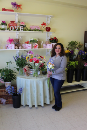 Ana Patricia Flores-Morales, owner of Flowerdale by Patty, has continued the tradition that has been passed down to her by previous owners, which is to always accommodate the customer no matter the budget and occasion.