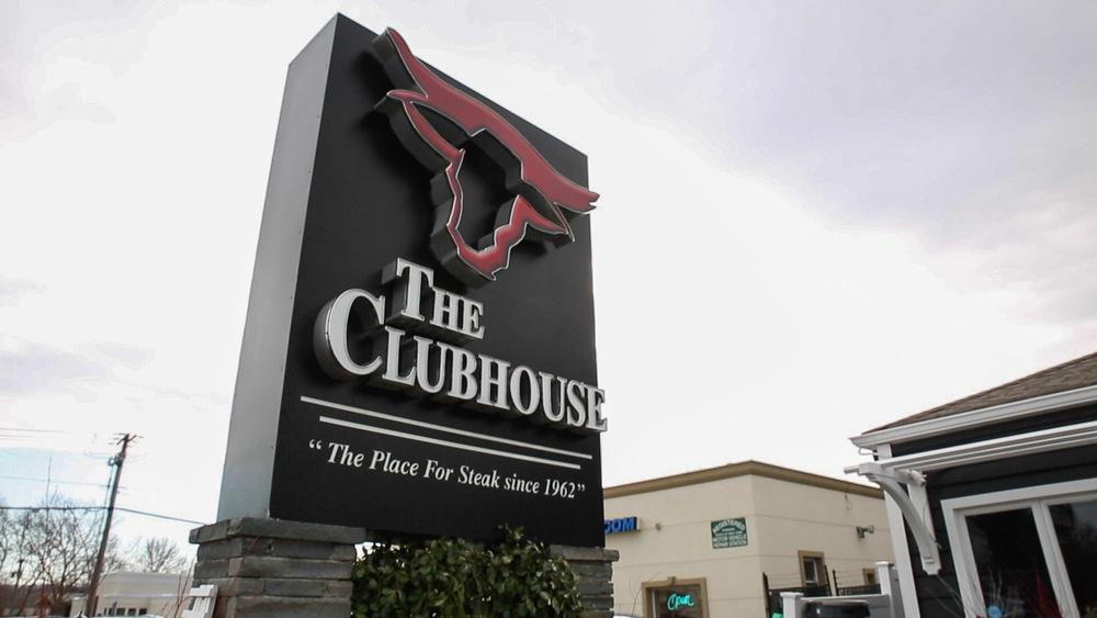 The Clubhouse is located at 320 W Jericho Turnpike in Huntington.