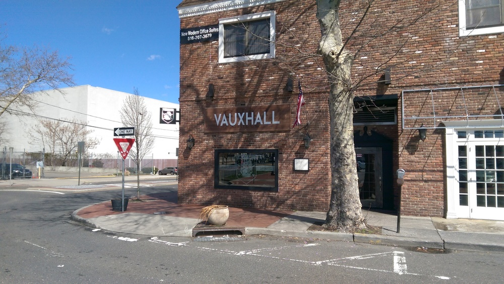 Vauxhall opened its doors 26 Clinton Ave. in Huntington village last December. It's been serving up signature burgers and a Brooklyn-esque vibe ever since.