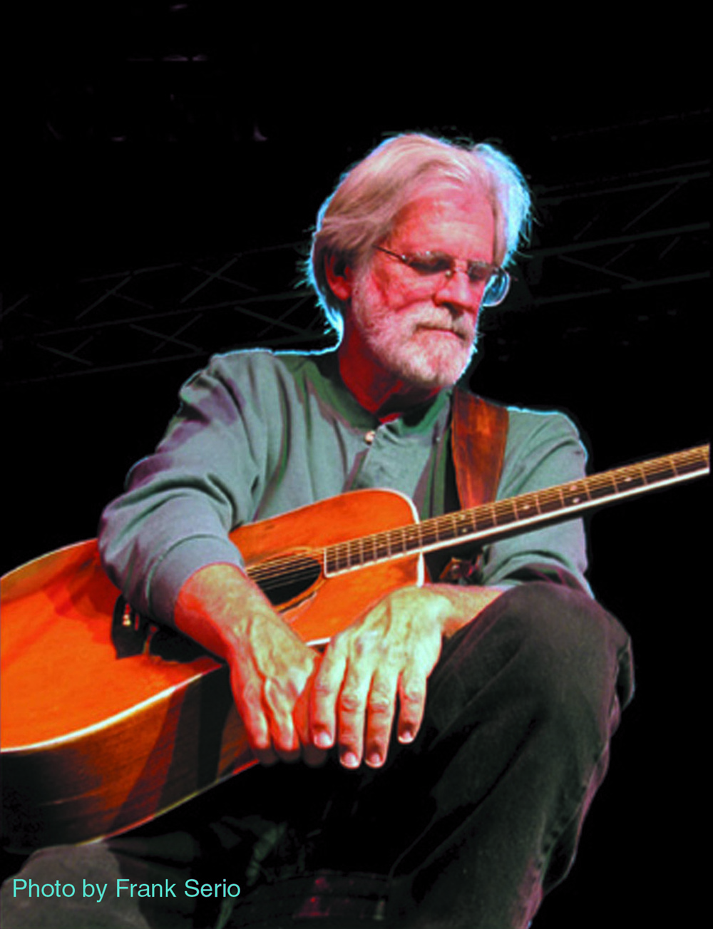 Jack Williams, a genre-spanning folk singer-songwriter and guitarist, will play a show with fellow performers Steve Gillette and Cindy Mangsen on Saturday at The Congregational Church of Huntington in Centerport.