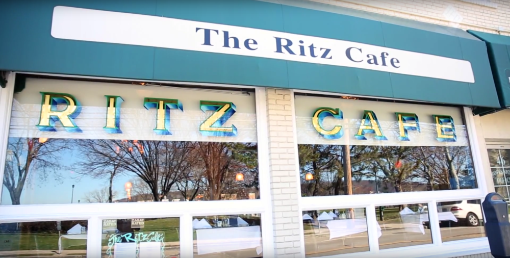 The Ritz Cafe is located at 44 Woodbine Ave. in Northport, offering diners a view of Northport Harbor to go along with their meal.