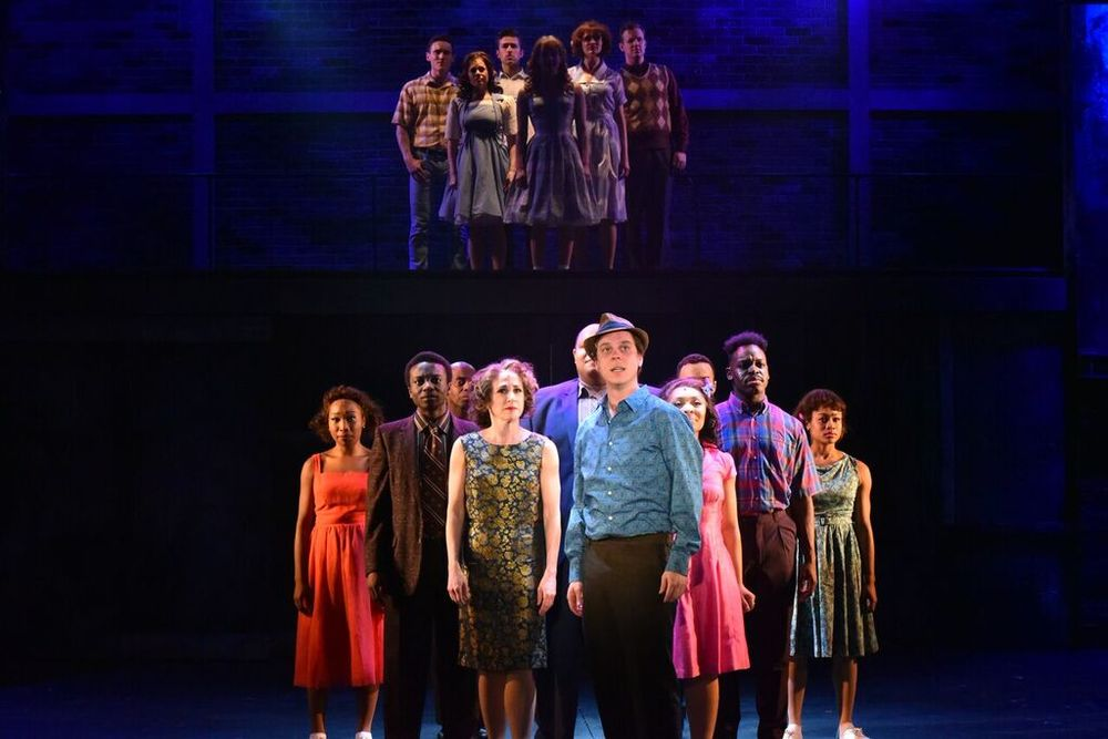 "The ensemble of the John Engeman Theater's production of ""Memphis"" delivers an energetic and emotional performance telling a story about social structure based on race in Tennessee during the 1950s."