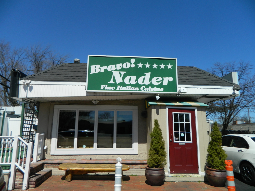 Huntington's Bravo! Nader first opened its 9 Union Place doors in 1996.