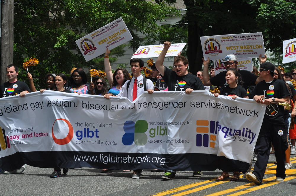 The annual Long Island Pride parade through Huntington village has been cancelled by organizer LGBT Network.