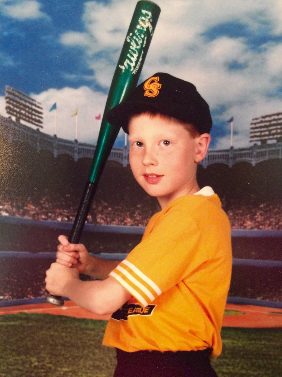 Stephen Ridings started playing baseball at age seven, playing on the Commack South Little League team, the CGI Braves and the St. Anthony's High School team. Photo by Tom Ridings