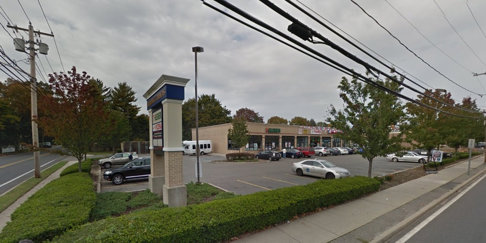 Suffolk police said three men attempted to rob a 21-year-old man at the 7-Eleven at 247 Broadway in Greenlawn early Saturday morning.