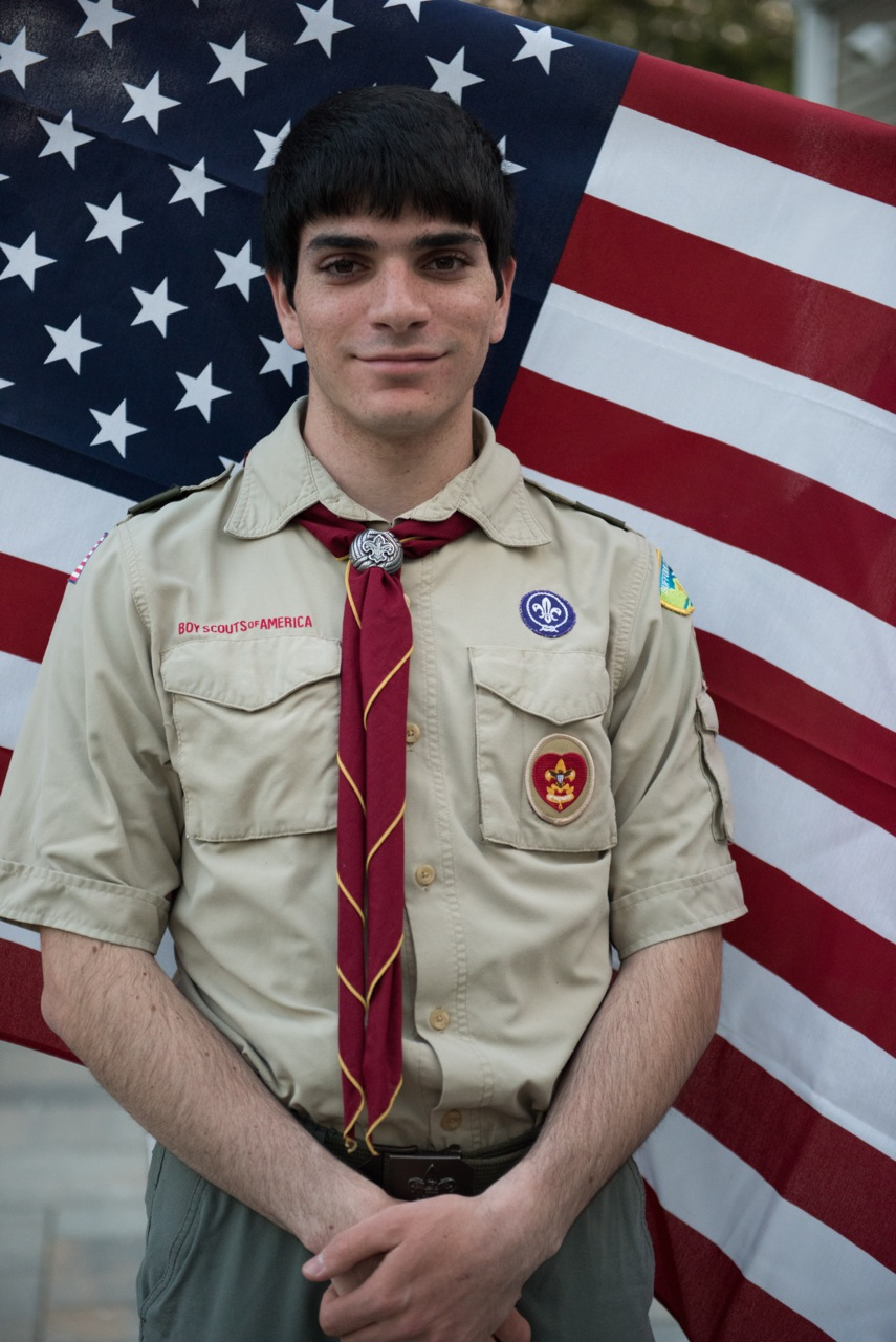 Yanni Agrotis is part of a group of 4 percent of scouts across the nation to earn the coveted Eagle Scout rank.