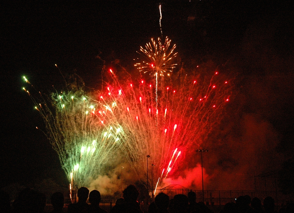 The annual Asharoken fireworks displayed is slated to begin at 9:20 p.m. on the Fourth of July.