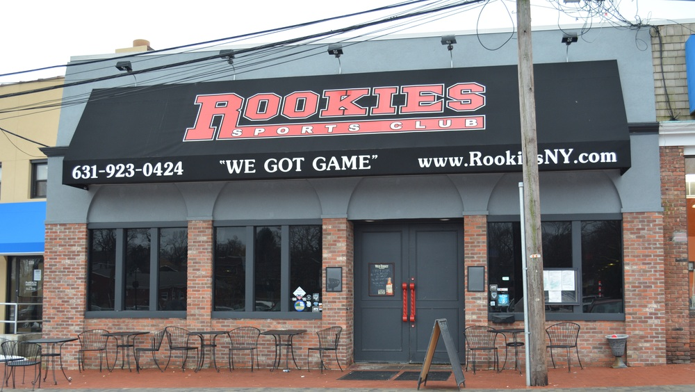 Rookies Sports Club at 70 Gerard St. in Huntington village has closed its doors after eight years of business, and changes in ownership. New plans for the space include another sports bar, planned to open within four to six weeks.