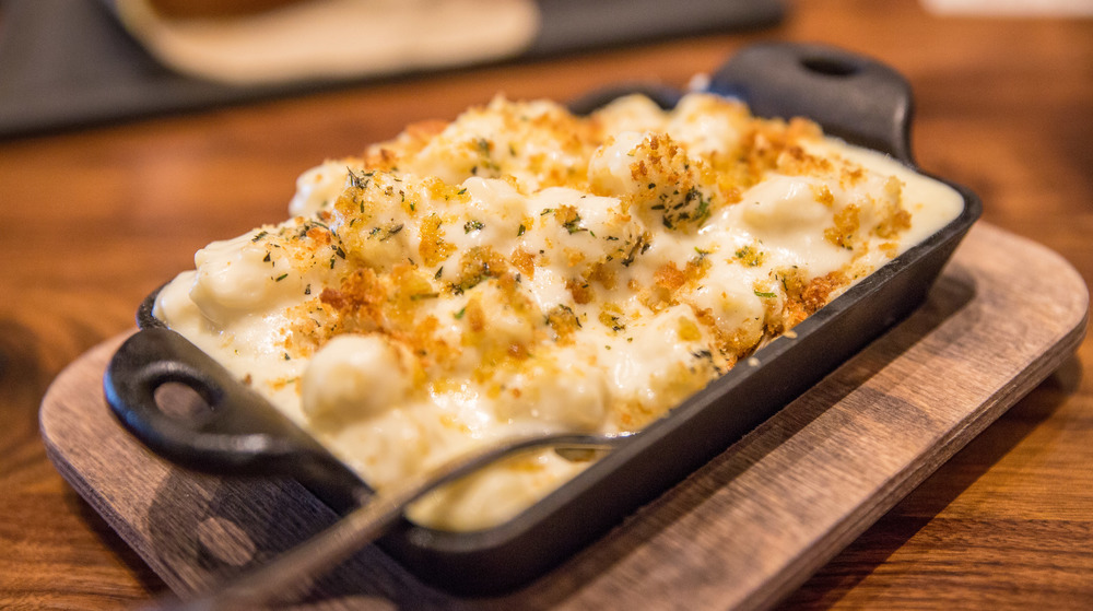 The radiatore noodles of the Truffled Mac & Cheese hold all the sauce you'd want and more, making each bite more flavorful than the last.