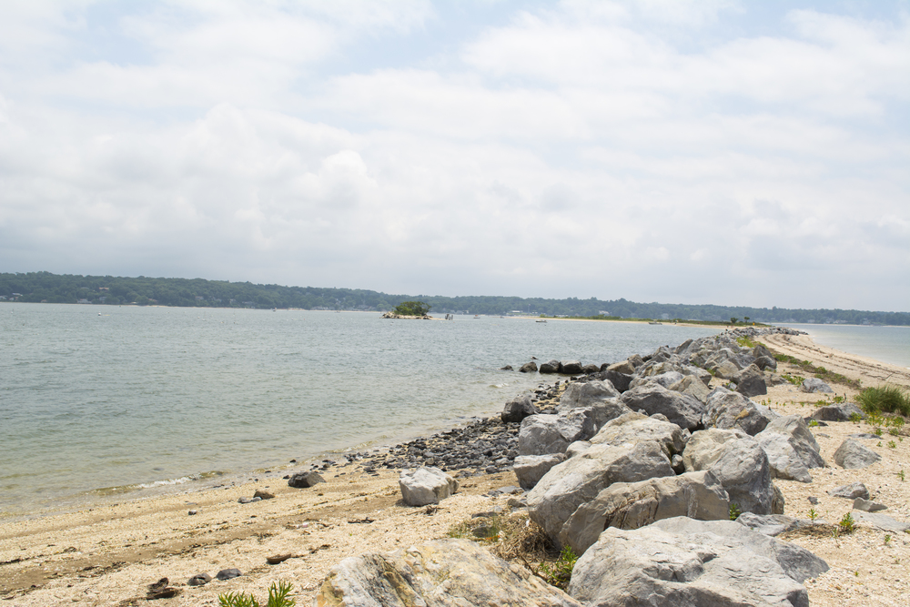 Hobart Beach Park in Northport offers a breathtaking, panoramic view of both Huntington and Northport harbors.