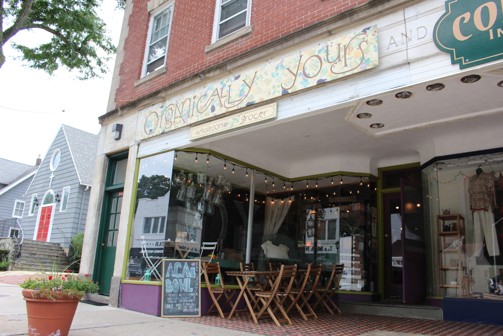 Organically Yours in Northport Village has been going strong since opening 18 years ago. It's an organic grocery store and a deli.