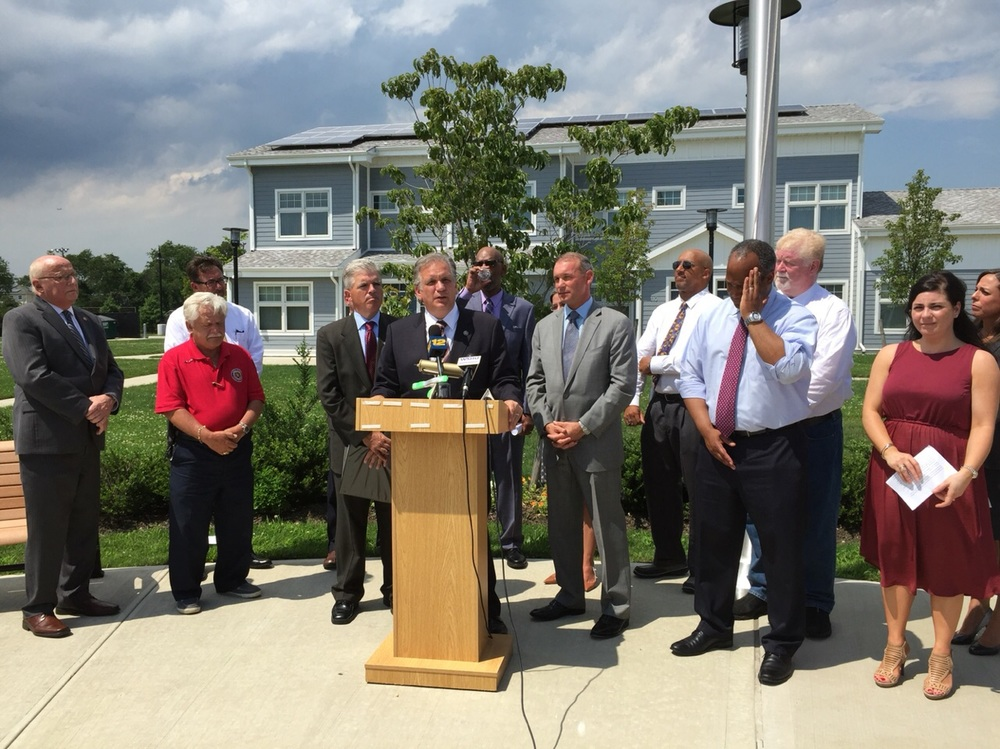 Last week, the United States Department of Housing and Urban Development and the United States Interagency Council on Homelessness have declared the end of the veteran housing crisis on Long Island. Photo/Nassau County