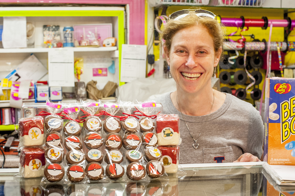 Owner of Sweeties Candy Cottage, Lisa Hodes, created Pokémon-inspired treats to cater to the eager Pokémon trainers of Huntington.