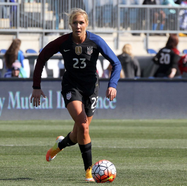Northport native Allie Long has made the Olympic roster for U.S. Women's National soccer team, which will compete against New Zealand on Aug. 3.   Photo/Instagram
