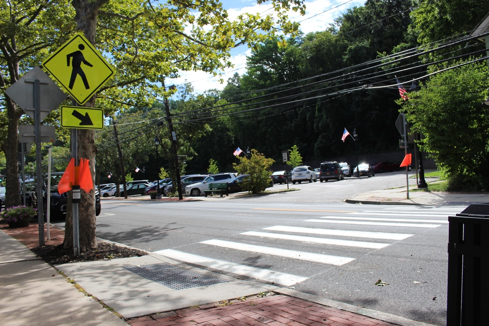 After several pedestrians have been struck on Main Street in Cold Spring Harbor, with one fatal incident, members of the community have been working with New York State and the Town of Huntington to come up with a safe solution.