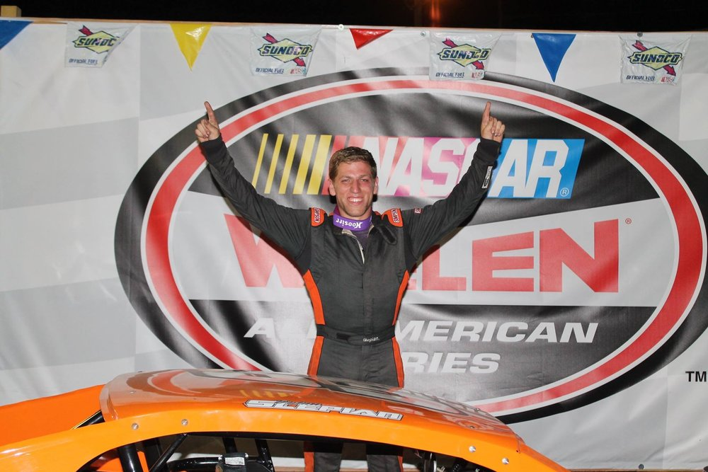 Twenty-one-year-old Dix Hills native Dylan Slepian claimed first place at Riverhead Raceway on July 23, when he competed in a Modified Crate class 40-lap race.