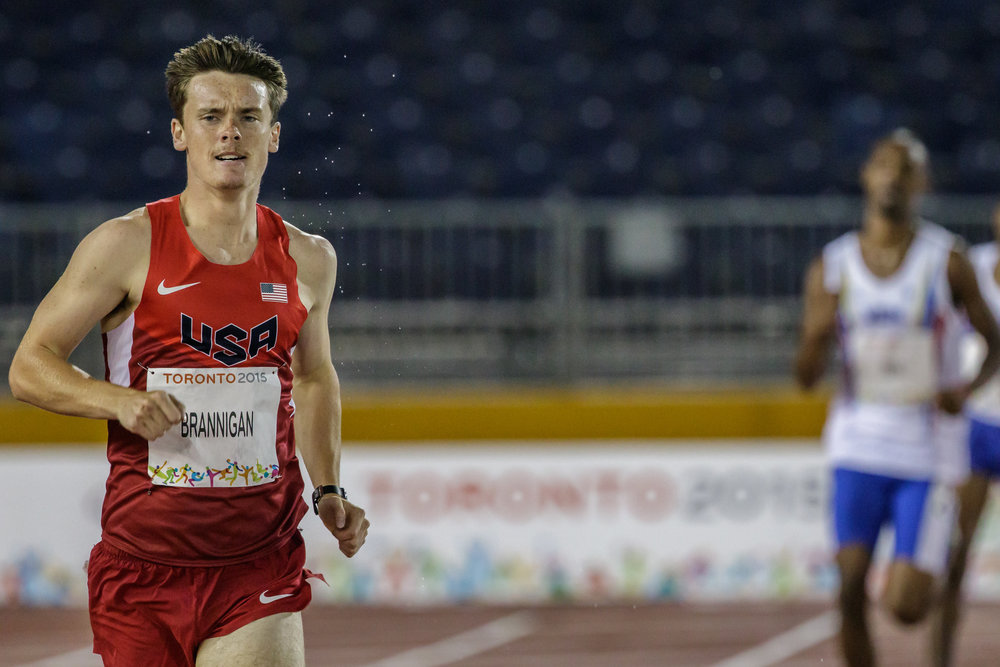 "Michael ""Mikey"" Brannigan, left, of East Northport, has been an unstoppable force since he started running at age 7. Now, he's made strides to compete at the 2016 Rio Paralympic Games, which begin later this month."