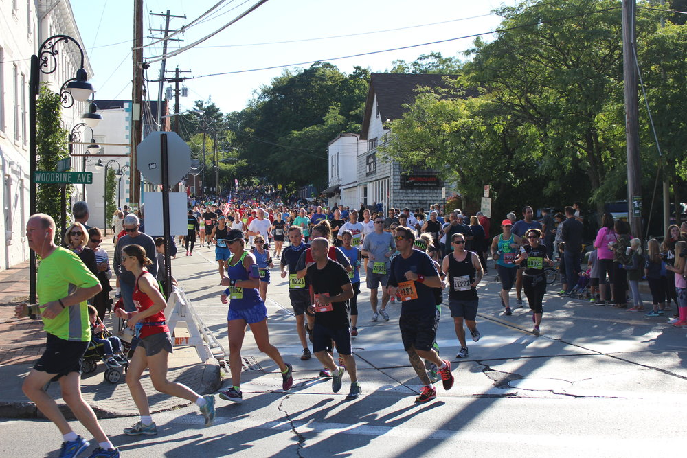 Thousands of Huntington township residents participated in the annual Great Cow Harbor 10K and 2K Fun Run/Walk through Northport Village.