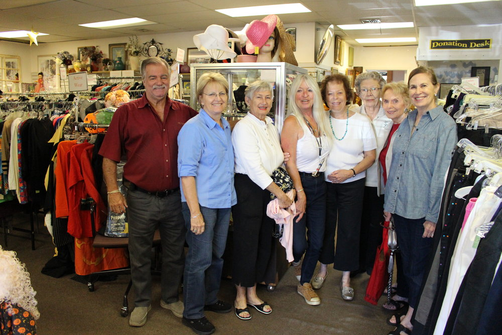 Long Islander News photos/Janee Law     Community Thrift Shop has about 100 volunteers through six different agencies, CancerCare of Long Island, Family Service League, Visiting Nurse Service & Hospice, auxiliary of Huntington Hospital, Planned Parenthood and Daytop Village, Inc.