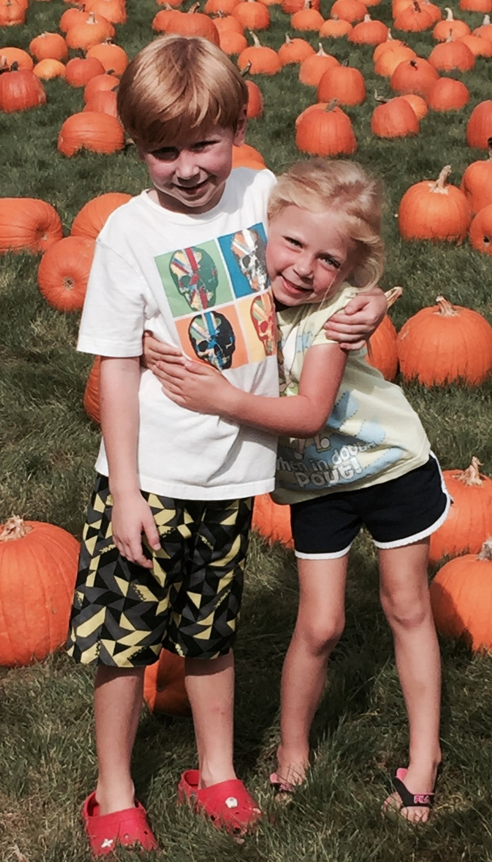 Photo provided by Jean Schmitt Many families are gearing up for this seasons fall festivities, where several farms across the Town of Huntington will be offering pumpkin picking, rides, Halloween decorations, goodies and more.